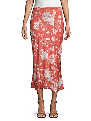 Muriel Midi Skirt in Chipotle Print