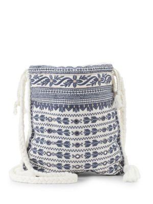 Star Mela Mendi Embroidered Crossbody Bag