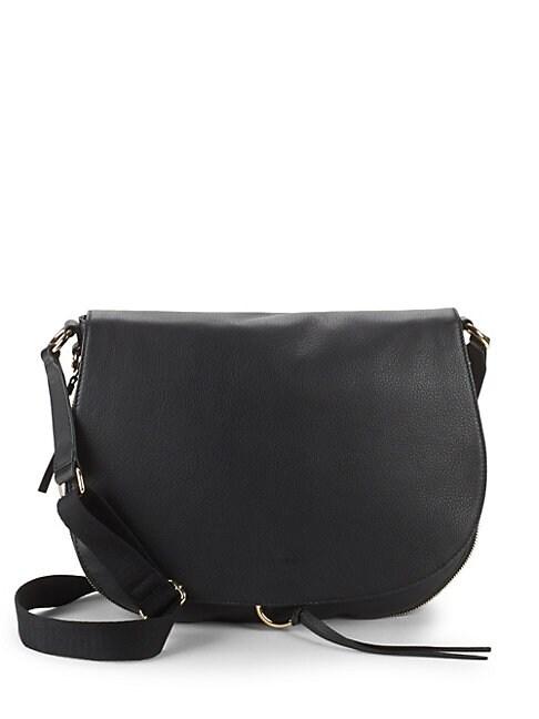 Barna Leather Saddle Bag