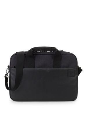 INCASE Faux Fur-Lined Computer Bag in Black