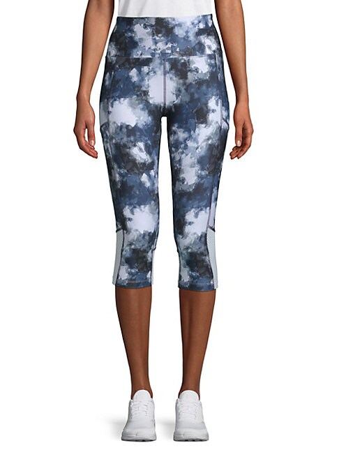 BALANCE COLLECTION | Ava Aeon Printed Capri Leggings | Goxip
