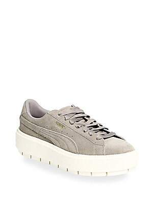 Rock Ridge Suede Platform Sneakers