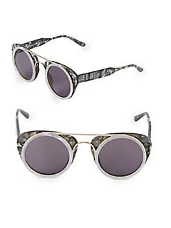 bd9ad542f1 QUICK VIEW. Smoke X Mirrors. Sodapop III 47MM Round Sunglasses