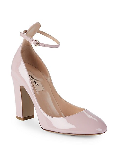Tango Patent Leather Pumps, Light Pink