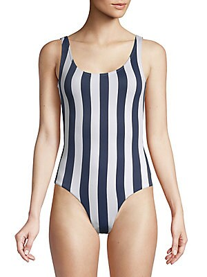Kelly One-Piece Striped Swimsuit