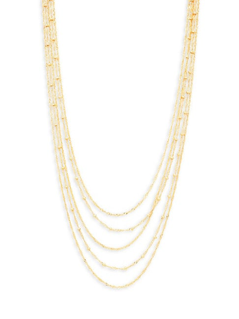 Panacea LAYERED CHAIN NECKLACE