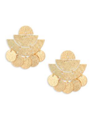 Panacea Art Deco Drop Earrings