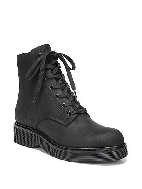 Monastir Straus Suede Combat Boots