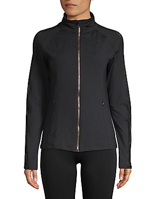 ELECTRIC YOGA Poison Dots Jacket in Black