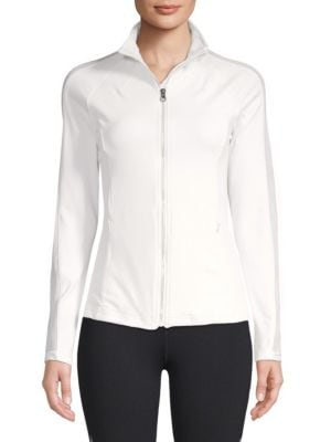 ELECTRIC YOGA Poison Dots Jacket in White