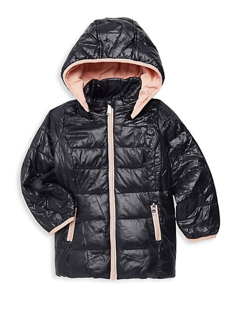 Little Girls  Girls Stadium Quilted Jacket