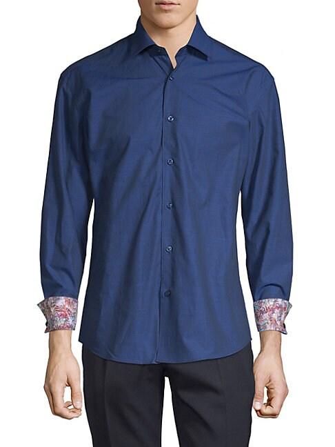 Tropical Button-Down Shirt