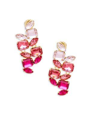 JARDIN Cluster Drop Earrings in Gold