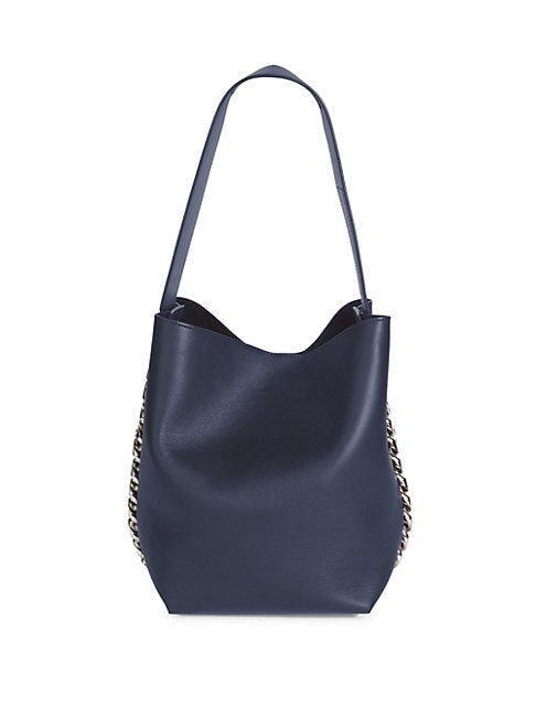 Givenchy Infinity Leather Bucket Bag In Night Blue  1b7e35275f225