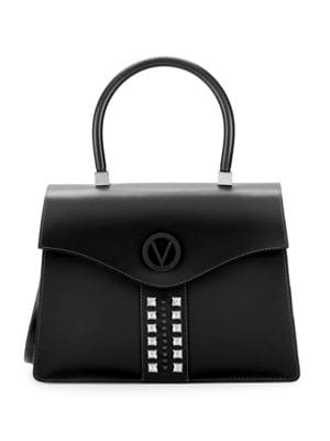 Valentino By Mario Valentino Leathers Anais Leather Top Handle Bag