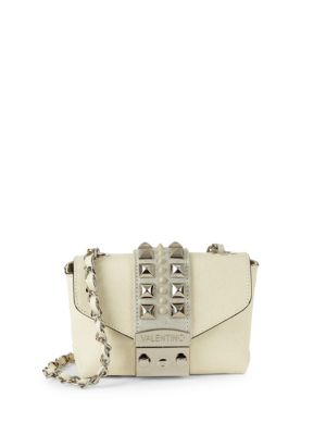 Valentino By Mario Valentino Leathers Paulette Studded Leather Mini Bag