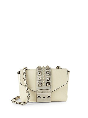 Yasmine Studded Leather Crossbody Bag by Valentino By Mario Valentino