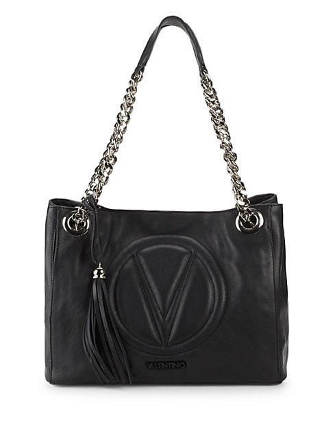 Luisa Leather Chain Tote