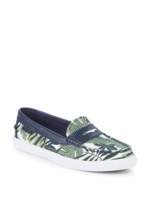 Nantucket Leather Penny Loafers in Palm
