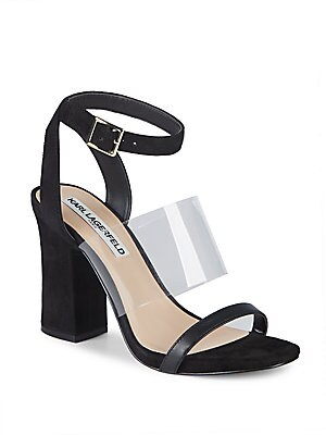 RAYA LEATHER ANKLE STRAP SANDALS