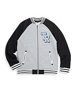 True Religion - Boy's Logo Varsity Jacket