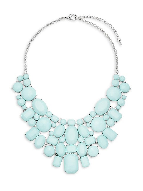 Cool Blue Statement Necklace