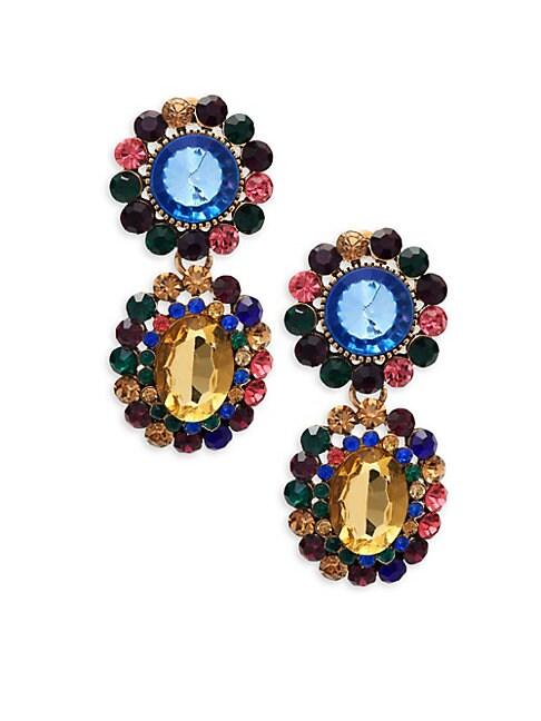 Sweet Treat Crystal Drop Earrings