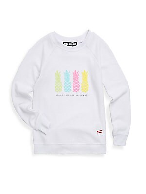 Girl's Graphic Sweatshirt