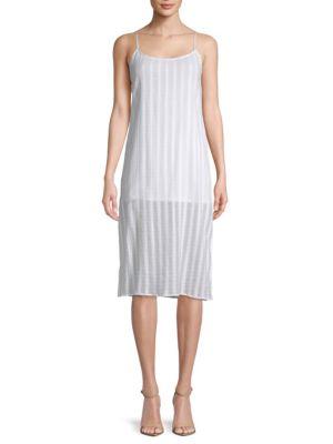 Show Me Your Mumu Shiloh Striped Slip Dress
