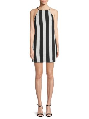 Show Me Your Mumu Traveler Striped Mini Dress