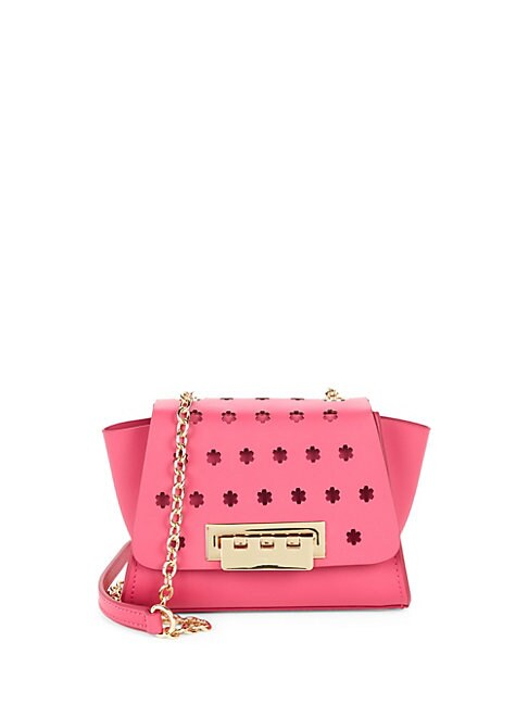 Eartha Leather Mini Crossbody Bag