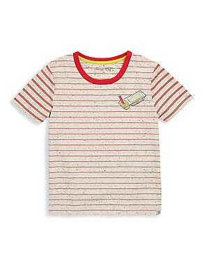 Little Boys Narrow Stripe Tee