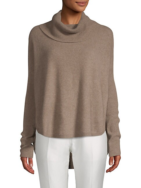 Cowlneck Cashmere Sweater