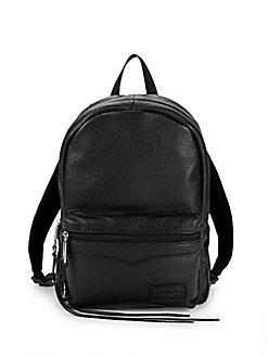 166b4401cb4b9f QUICK VIEW. Rebecca Minkoff. Top Zip Medium Leather Backpack