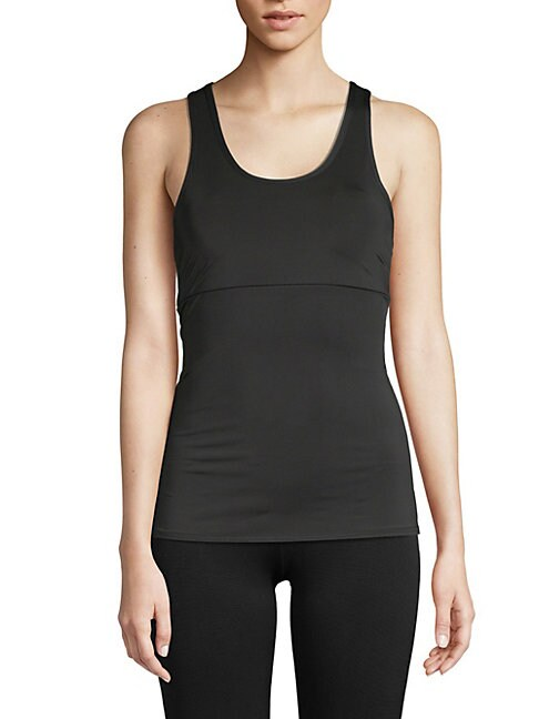 ELECTRIC YOGA | Lace-Up Tank Top | Goxip