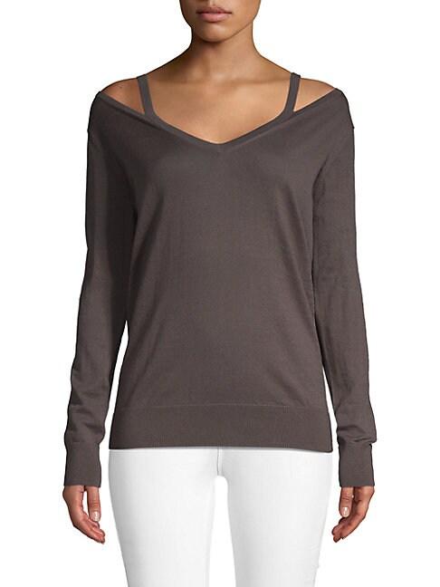 AUTUMN CASHMERE | Cutout Cashmere Sweater | Goxip