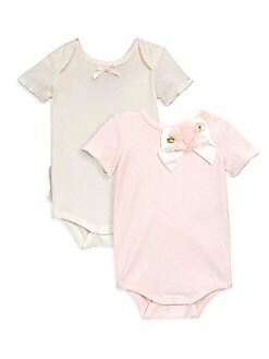 Miniclasix - Baby Girl's Two-Piece Classic Bodysuit Set