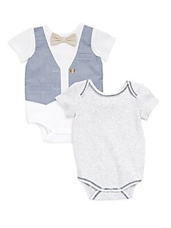 Miniclasix - Baby Boy's Set of Two Classic Bodysuit
