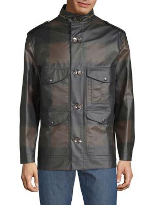 VALENTINO Plaid Print Jacket