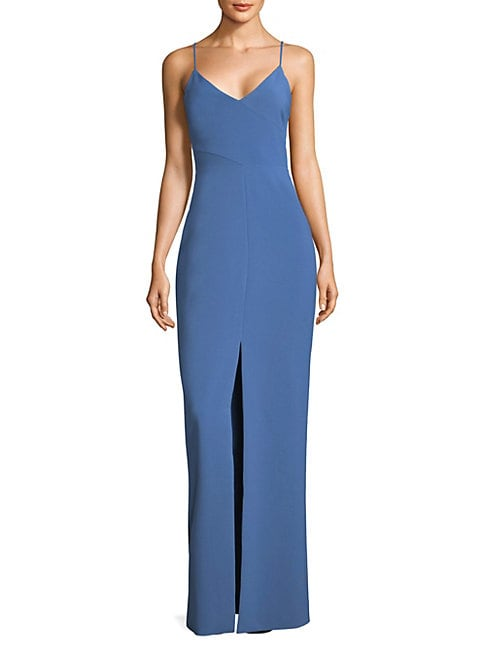 BROOKLYN V-NECK GOWN