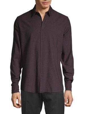 J. Lindeberg Daniel Cotton Moline Sport Shirt