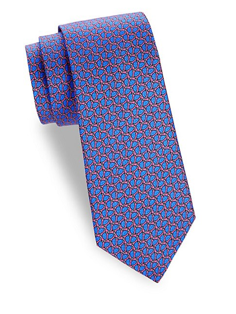 Turtle Shell Silk Tie