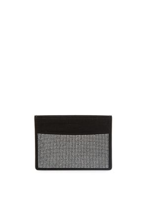 Giuseppe Zanotti Studded Leather Cardholder