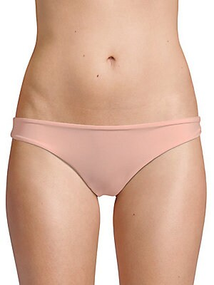 TORI PRAVER SWIM Mimi Bikini Bottom in Rose Quartz