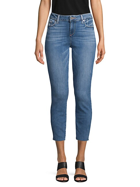 PAIGE | Verdugo Cropped Jeans | Goxip