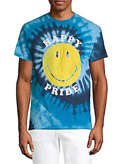 Body Rags Clothing Co - Smiley Happy Pride Cotton Tee
