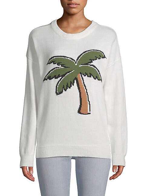 Palm Graphic Sweater