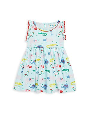 Baby Girl's Printed Cotton Dress