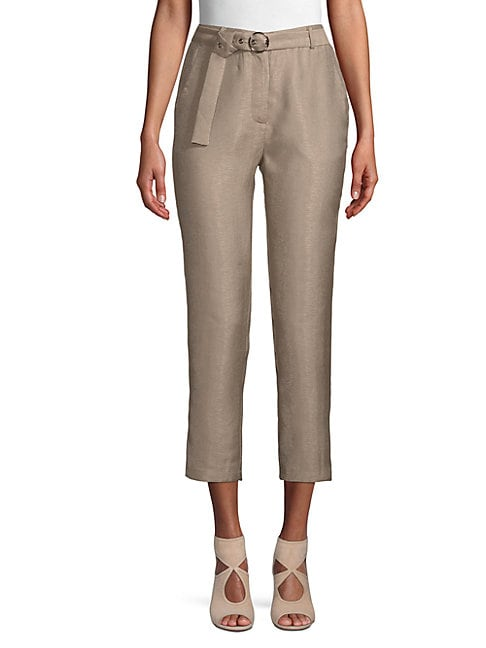 Moon River GO-TO BELTED PANTS
