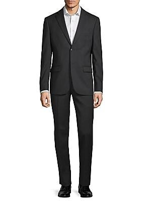 Slim Fit Wool Suit by John Varvatos